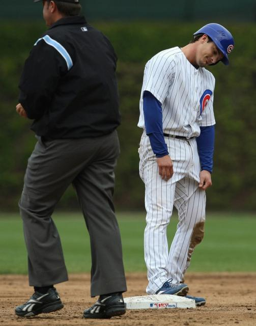Ryan Theriot is dejected after being called out.jpg