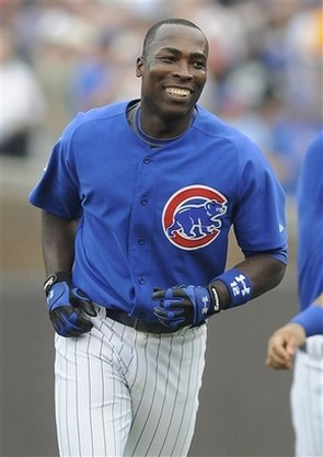 Alfonso Soriano smiles after getting the game winner.jpg