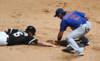 Ryan Theriot tags out Gordon Beckham.jpg
