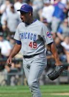 Carlos Marmol is happy after saving a game.JPG
