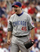 ryan dempster yells after converting save opportunity.jpg